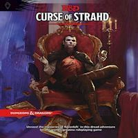 Dungeons  Dragons  Role Play  5th Edition Curse of Strahd DD English