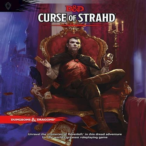 Image of Dungeons Dragons Role Play 5Th Edition Curse Of Strahd Dd English