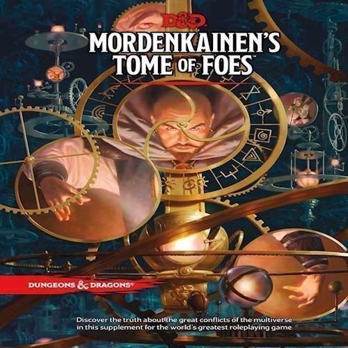 Image of Spil, Dungeons & Dragons - Role Play - 5Th Edition Mordenkainen´S Tome Of Foes
