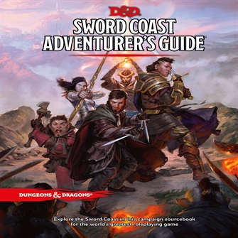 Image of Spil, Dungeons & Dragons - Role Play - 5Th Edition Sword Coast AdventurerS Guide (D&D)