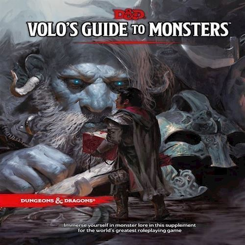 Image of Spil, Dungeons & Dragons - Role Play - 5th Edition Volo´s Guide to Monsters (WTCB8682)
