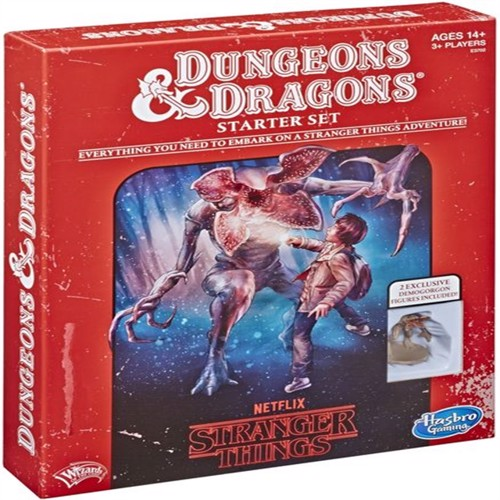 Image of Dungeons Dragons Stranger Things Starter Set