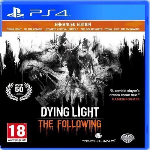 Image of Dying Light The Following Enhanced Edition - PS4 (5051890302137)