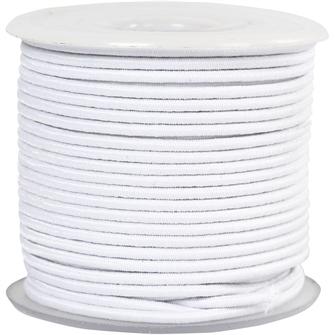 Image of Elastic White, 25m (5707167895535)