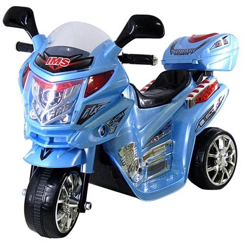 Image of El Børne Motorcykel Mini Moto 6V Blå