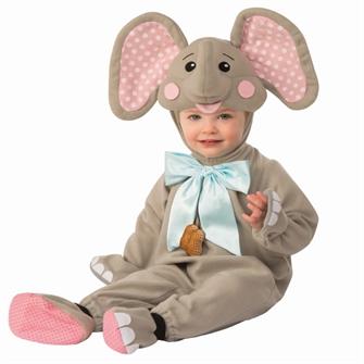 Image of Elefant Baby Udklædningstøj (6-24 måneder)(Str. 18-24M/24 MONTHS (18-24)) (883028402229)
