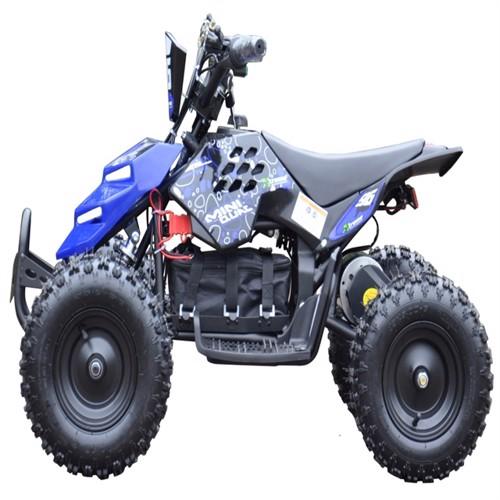 Image of EL Mini ATV Xtreme Mini Quad 800W m/fart begrænser Blå (5712548121998)