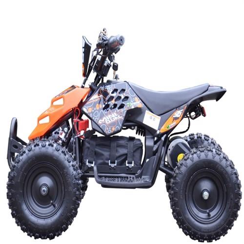 Image of EL Mini ATV Xtreme Mini Quad 800W m/fart begrænser Orange (5712548122025)