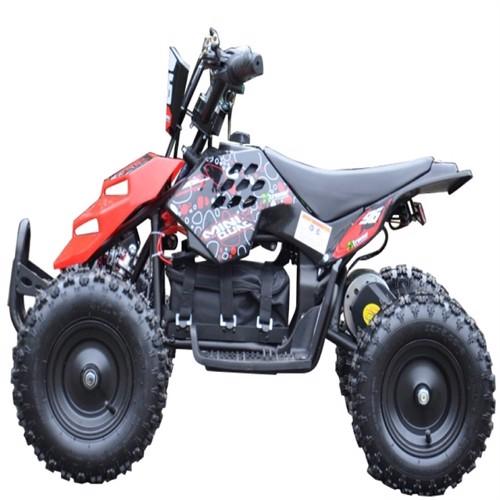 Image of EL Mini ATV Xtreme Mini Quad 800W m/fart begrænser Rød (5712548122001)