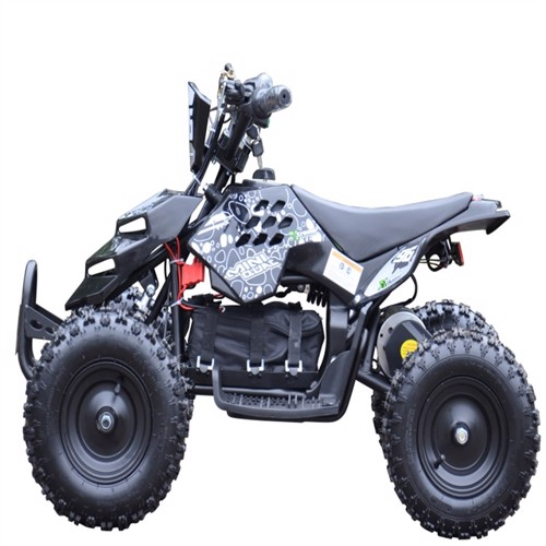 Image of EL Mini ATV Xtreme Mini Quad 800W m/fart begrænser Sort (5712548122018)