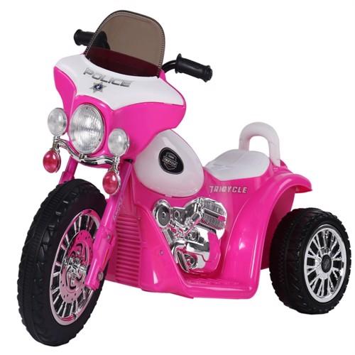 Image of El Politi Motorcykel Til Børn Pink