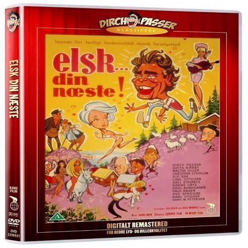 Image of   Elsk Din Næste DVD