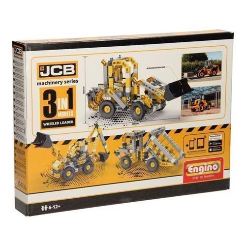 Image of Engino JCB - gravemaskiner 3i1 (5291664003802)