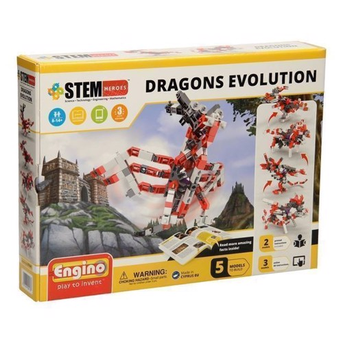 Image of Engino STEM Heroes - Drage evolution (5291664004137)