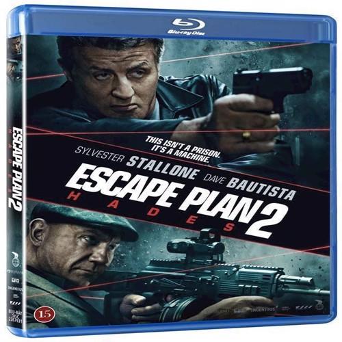Image of Escape Plan 2 Hades Blu-ray (5708758722810)