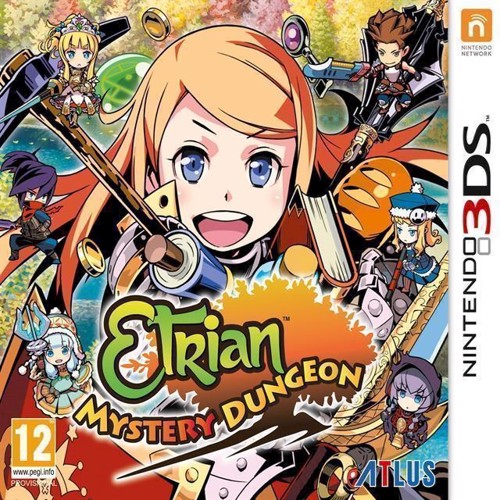 Image of Etrian Mystery Dungeon - Nintendo 3Ds