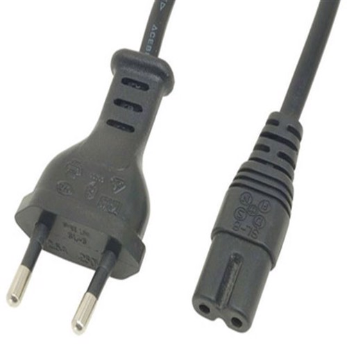 Image of   Euro Power Cable For PS4, PS3 Slim And PS2 - PS3