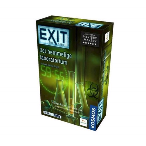 Image of Exit Det hemmelige laboratorie
