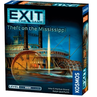 Billede af EXIT: Theft On The Mississippi - Escape Room Game (English) (KOS1501)