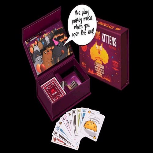 Image of   Spil, Exploding Kittens - Party Pack