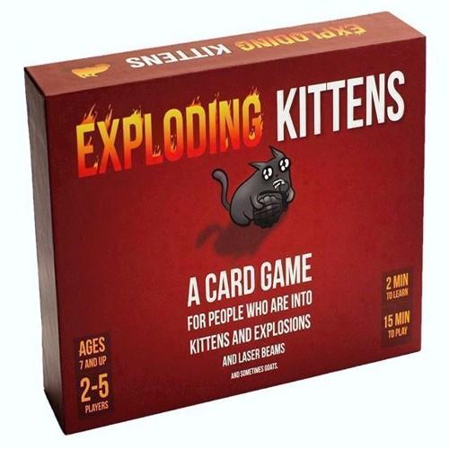 Image of Exploding Kittens, Nordic Original (3558380050926)