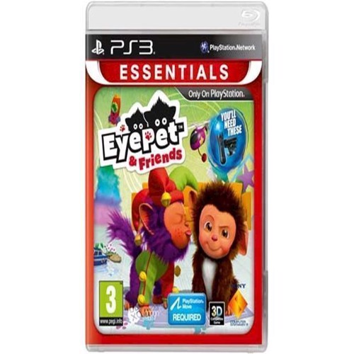 Image of   EyePet Friends Essentials - PS3