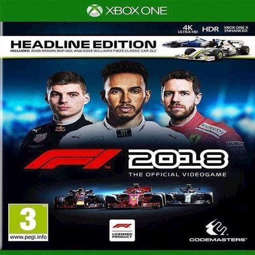 Image of   F1 2018 Headline Edition Day One Edition - XBOX ONE