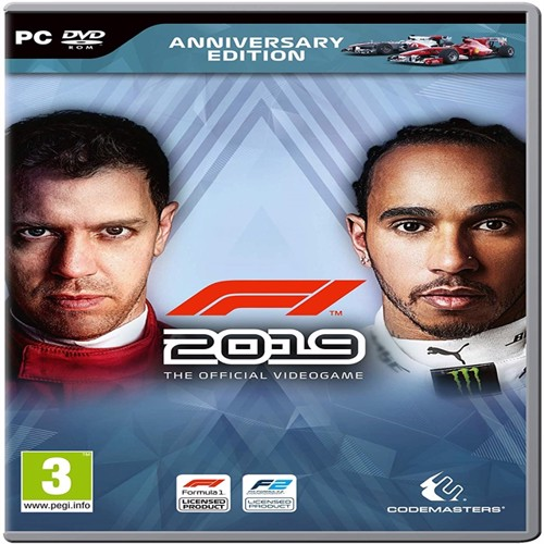 Image of F1 2019 Anniversary Edition, PC (4020628747213)