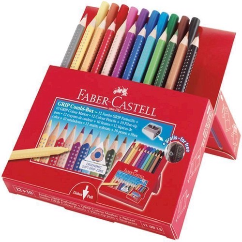 Image of Faber-Castell - Grip Combi Box (4005401109136)