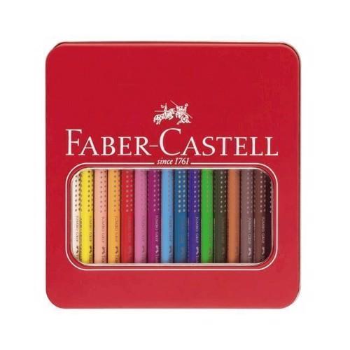 Image of Faber-Castell - Jumbo Grip farveblyanter - 16 stk (4005401109167)