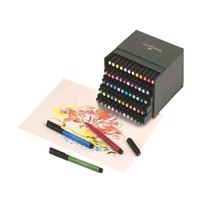 Faber Castell - PITT Artist Pen Brush - Studio box med 60