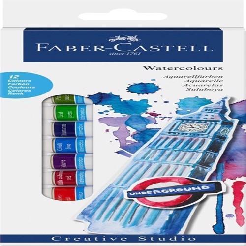 Image of Faber-Castell - Start sæt, vandfarver (4005401695035)