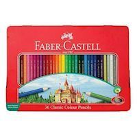 Faber Castel Farveblyanter hexagon 36 stk