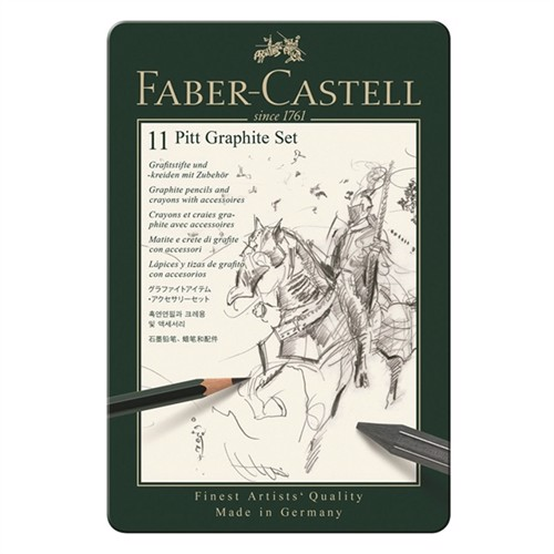 Image of Faber Castell, Pitt Graphite Sæt