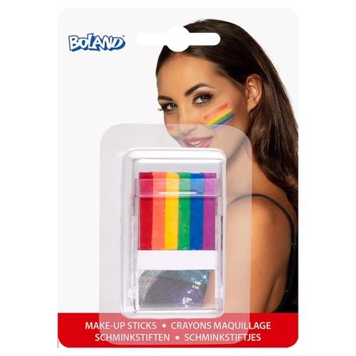 Image of Facepaint Sticks Rainbow (8712026450654)