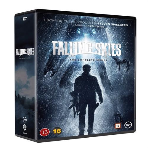 Image of Falling Skies complete series DVD (5051895405024)