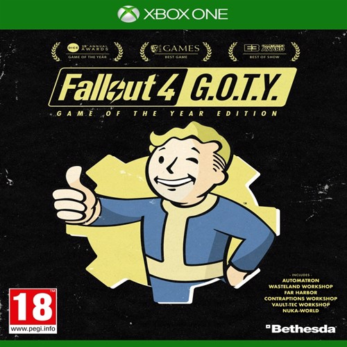Image of Fallout 4 Game Of The Year Ps4 (5055856418658)