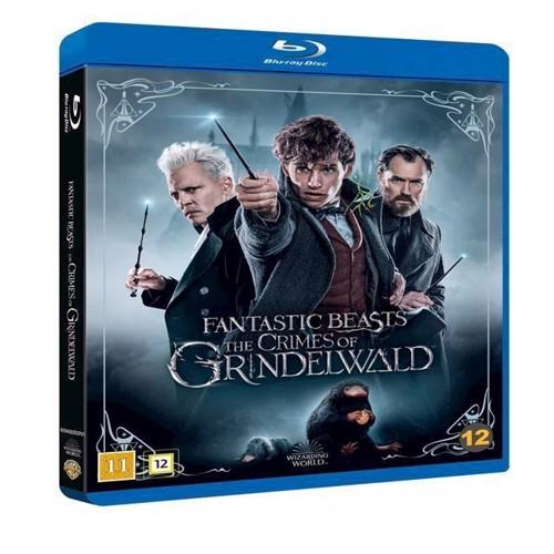 Image of   Fantastiske skabninger Grindewalds forbrydelser Ultra HD Blu-ray (4K) + Blu-ray