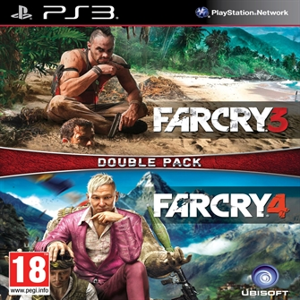 Image of Far Cry 3 Far Cry 4 Double Pack - Ps3