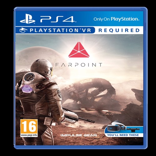 Image of Farpoint (VR) (Nordic) - PS4 (0711719849858)