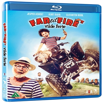 Image of Far til fires vilde ferie ved vadehavet (Blu-Ray) (5708758706506)