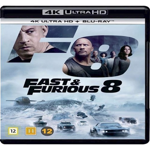 Image of   Fast Furious 8 4K Blu-Ray 2D Blu-Ray