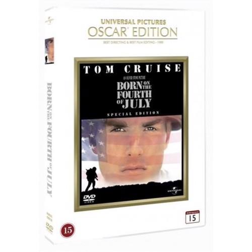 Image of Født den 4 juli / Born on the Fourth of July Special Edition DVD (5050582821284)