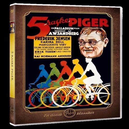Image of Fem Raske Piger DVD (5709165075629)