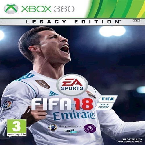 Image of   FIFA 18 Legacy Edition Nordic - PS3