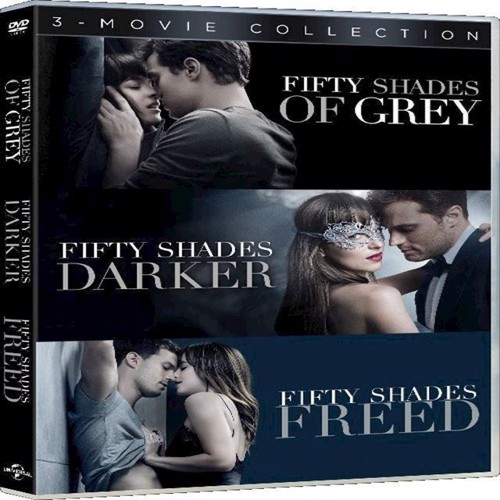 Image of   Fifty Shades Trilogy Box Set DVD