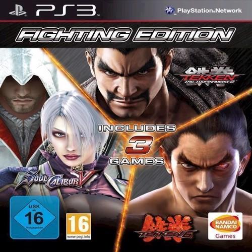 Image of   Fighting Edition Tekken 6 Tekken Tag Tournament 2 Soul Calibur V 5 - PS3