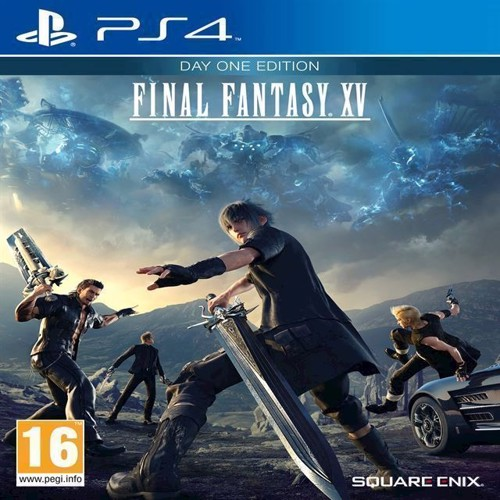 Image of Final Fantasy XV (15) - Day One Edition - PS4 (5021290072947)