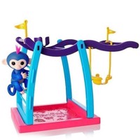 Fingerlings  Monkey Bar legesæt med glimmer abe
