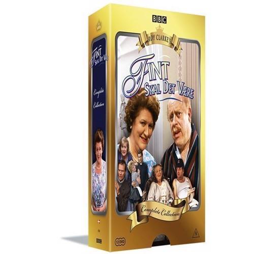 Image of Fint skal det være den komplette serie DVD (5709165255427)